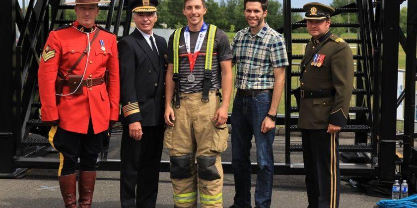 Tenue des Jeux policiers et pompiers nord-américains à Longueuil en août 2020