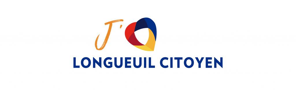 Logo de Longueuil Citoyen et du comité exécutif du parti