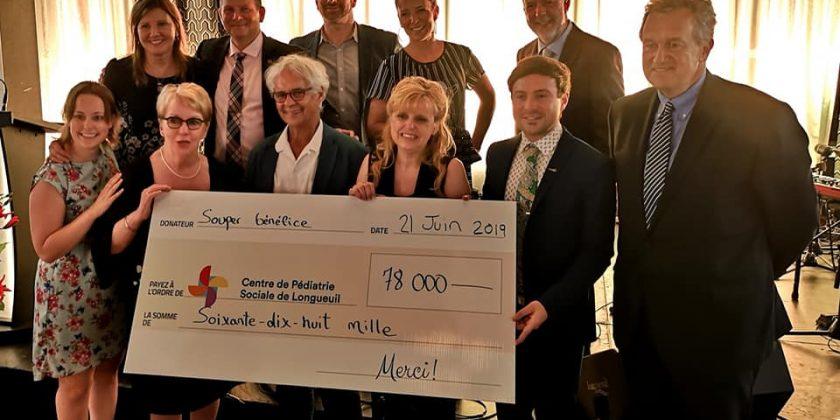 78 000$ pour le Centre de pédiatrie sociale en communauté de Longueuil