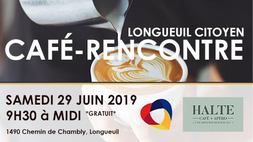 Longueuil Citoyen vous invite à un café-rencontre