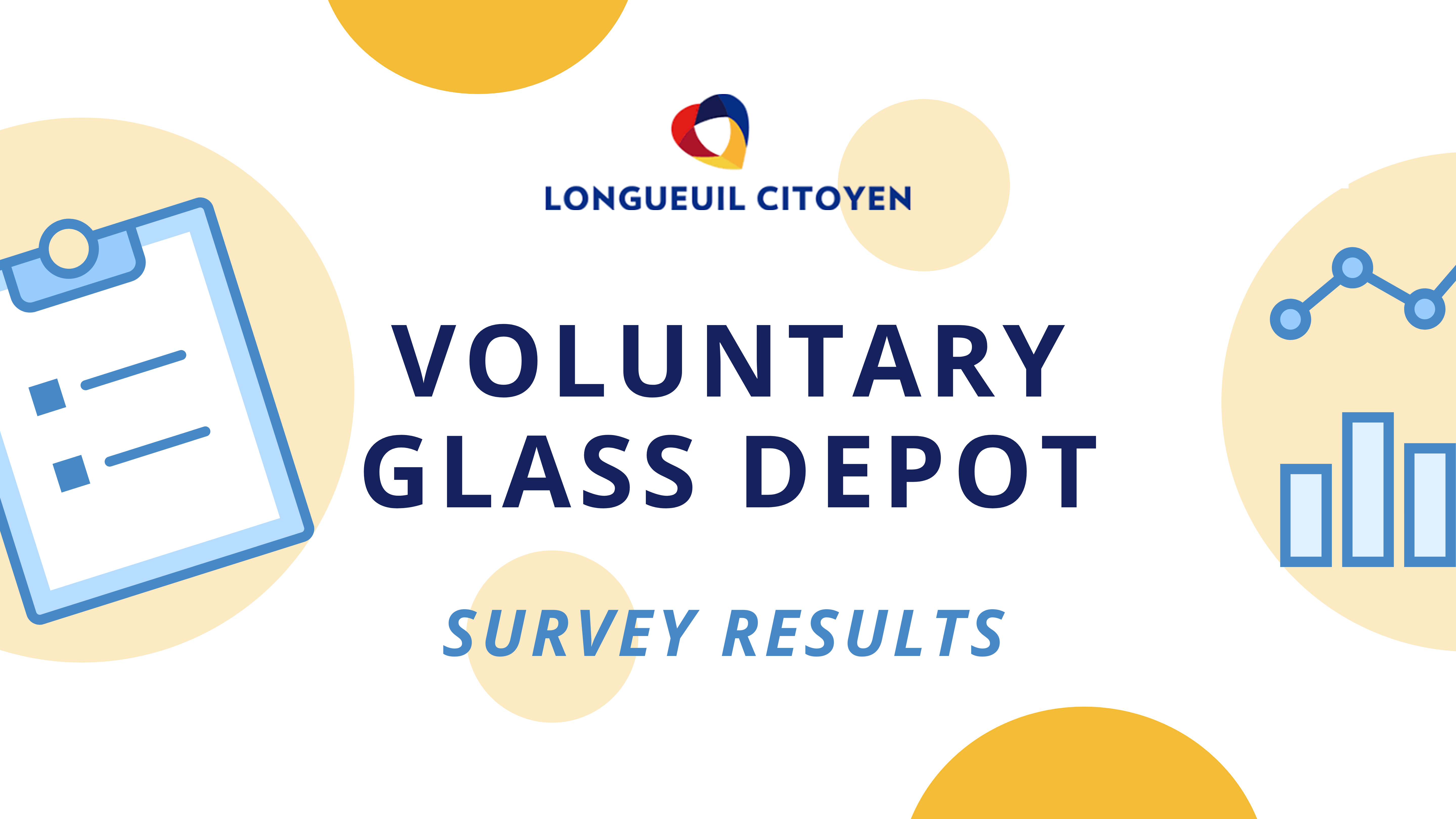 Voluntary glass depot: survey results